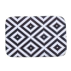 New Design Coral Fleece 40cm*60cm Magical Stripe Mat Outdoor Indoor Antiskid Decor Doormat Beauty Happy Gifts High Quality