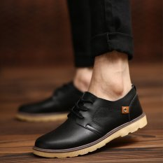 New England Korean Fashion Casual And Comfortable Small Shoes (Black) - Intl