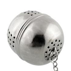 New Essential Stainless Steel Ball Tea Mesh Filter Strainer Tea Leaf Hook Spice (Intl)