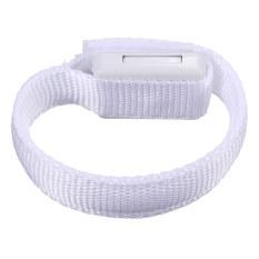 NEW Flashing Gear Glowing LED Wrist Band Lights Flash Nylon Cuff Party Bracelet