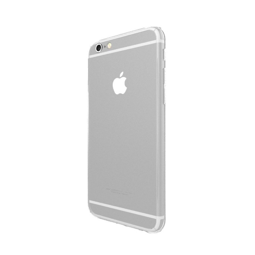 New Front + Back Hard Case Cover Full Body with Tempered Glass for iPhone 6/6S Clear (Intl)