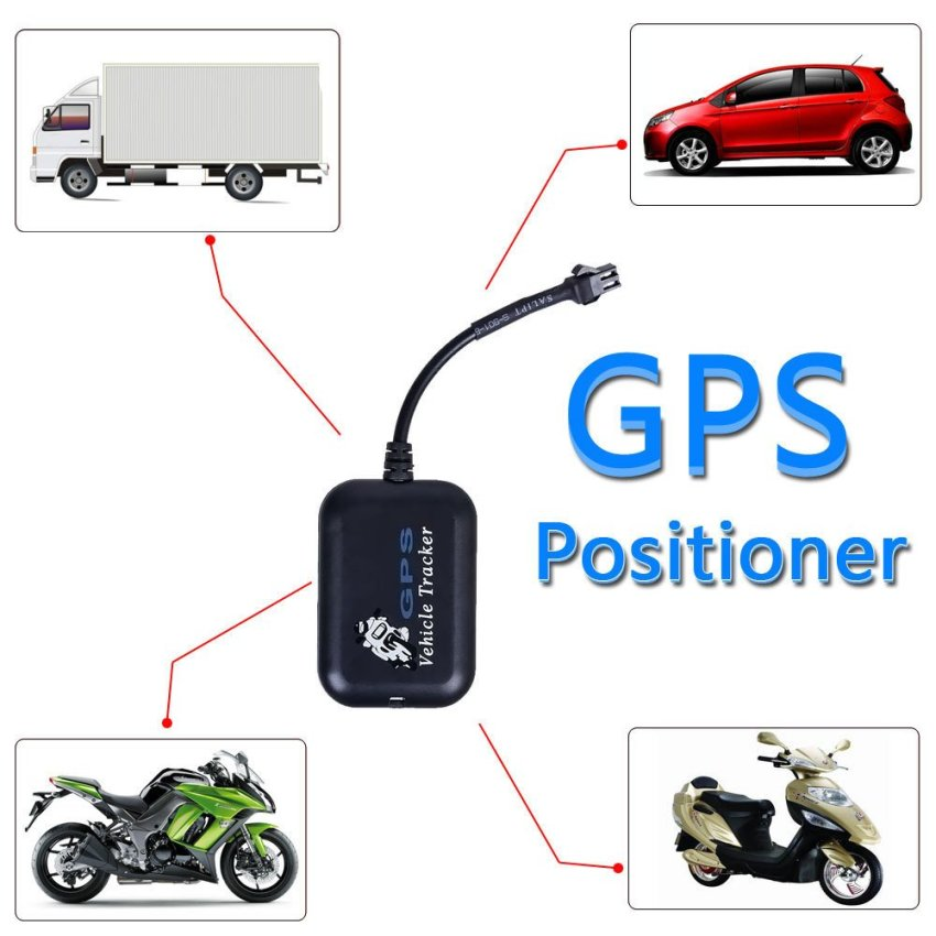 New Mini GPS GPRS GSM Tracker Car Vehicle SMS Real Time Network Monitor Tracking (Black) (Intl)
