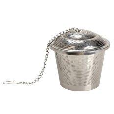 New Safety Tea Mesh 304 Stainless Steel Herbal Ball Infuser Tea Strainer 6.5cm (Intl)
