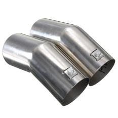 New Stainless Steel Trail Rear Exhaust Pipe Muffler For VW Bora Golf MK4 Jetta (Intl)