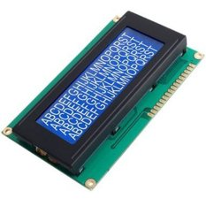 NiceEshop 2004 LCD Module (White/ Blue)