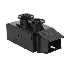 niceEshop 35mm Film Twin Lens Reflex TLR Holga Recesky Lomo Camera DIY Kit (Black)