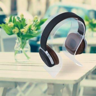 meja bundar dudukan rak koper hitam - Internasional. Source · Organizer Pemegang . Source · NiceEshop Headphone Headset Earphone Stand Display Holder Hanger ...