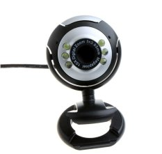 NiceEshop Mini Rotatable 5.0 Mega Pixel Night Vision Webcam PC Laptop Camera With Built In Microphone Supports Windows 2000 XP Vista / 7/8 (Intl)
