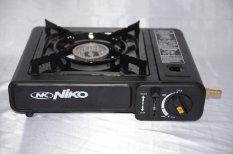 Niko Kompor Portable 2 In 1 Untuk Gas Kaleng dan Gas Elpiji