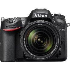 Nikon D7200 - 24.2 MP - VR Lens - Kit 18-140mm - Hitam
