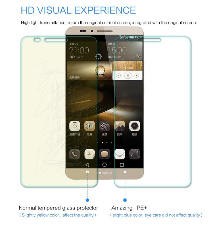 Nillkin Clear Amazing PE+ Blue Light Resistant Eyes Care Screen Protector for Huawei Mate 7 (Intl)