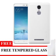 Nillkin Hardcase For Xiaomi Redmi Note 3 Pro Super Frosted Shield - Clear + Free Tempered