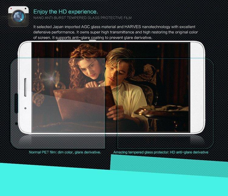 Nillkin Tempered Glass Screen Protector Screen Guard for Huawei Honor 7i (Intl)