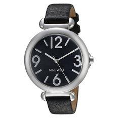 Nine West Women's NW / 1775BKBK Black Strap Watch (Intl)