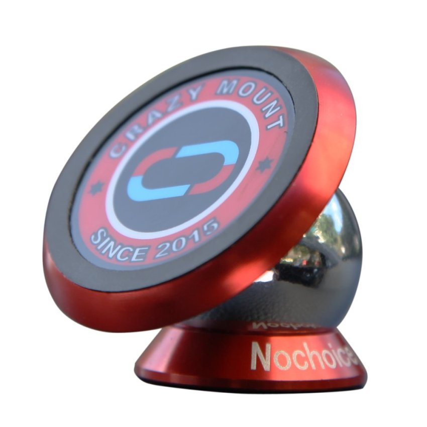 Nochoice Car Kit Bracket Dashboard Magnetic Mount Cell Phone Holder Stand Bigger Version With 42mm (Red) (Intl)