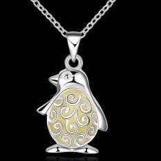 Noctilucent Pendant Necklace Trendy Penguin Shaped SLYYGN017-C - Intl