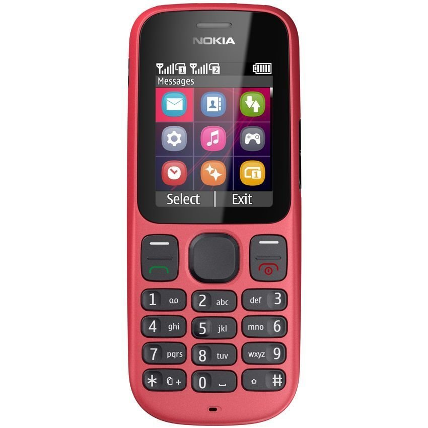 Nokia 101 - Dual GSM - Coral Red