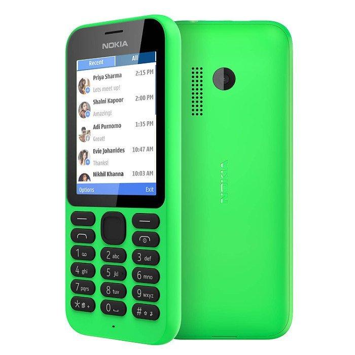 Nokia 215 - Dual Sim - Hijau