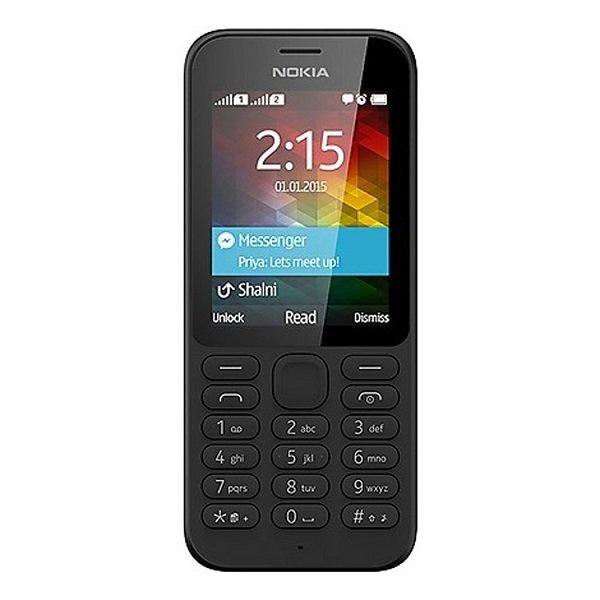 Nokia 215 Dual Sim - Hitam