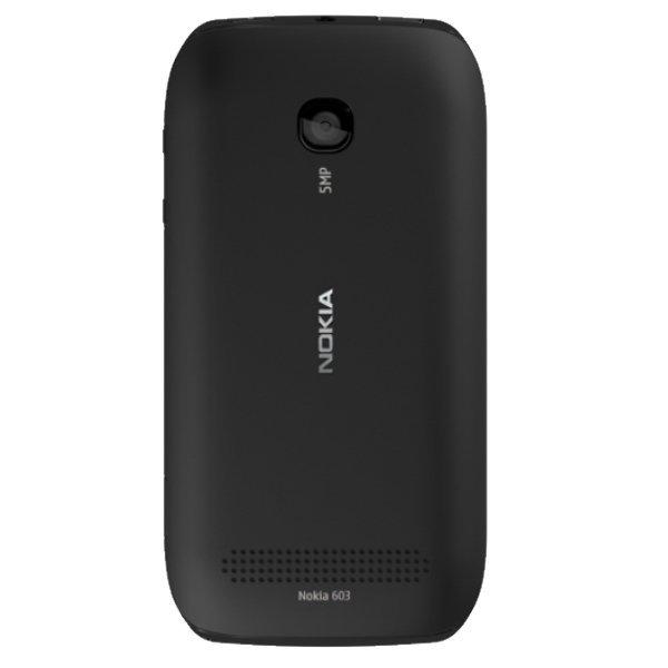 Nokia 603 - Hitam + Gratis MMC 2 GB