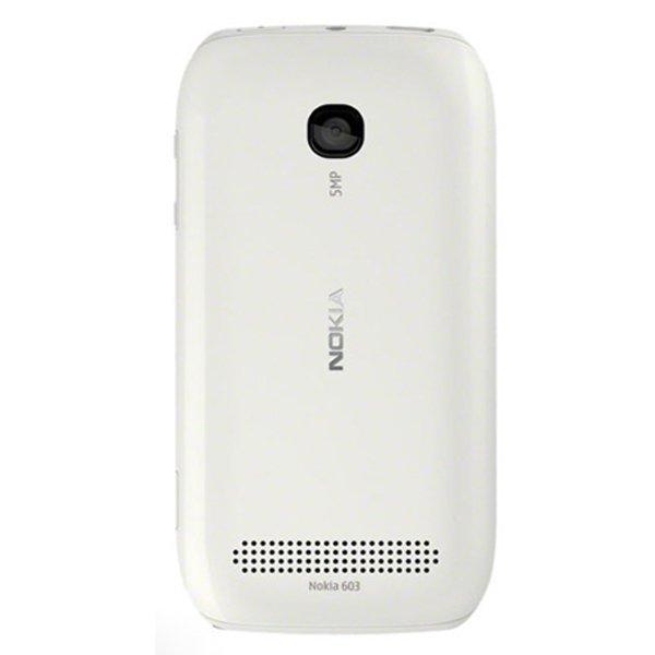 Nokia 603 - Putih + Gratis MMC 2 GB