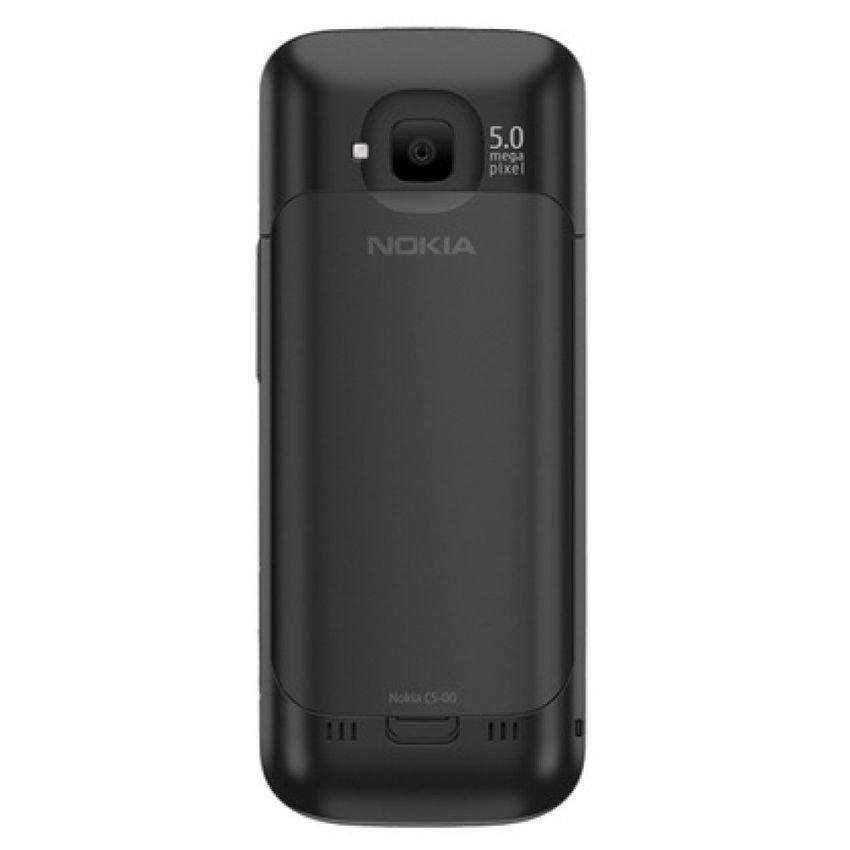 Nokia C5-00.2 - Hitam