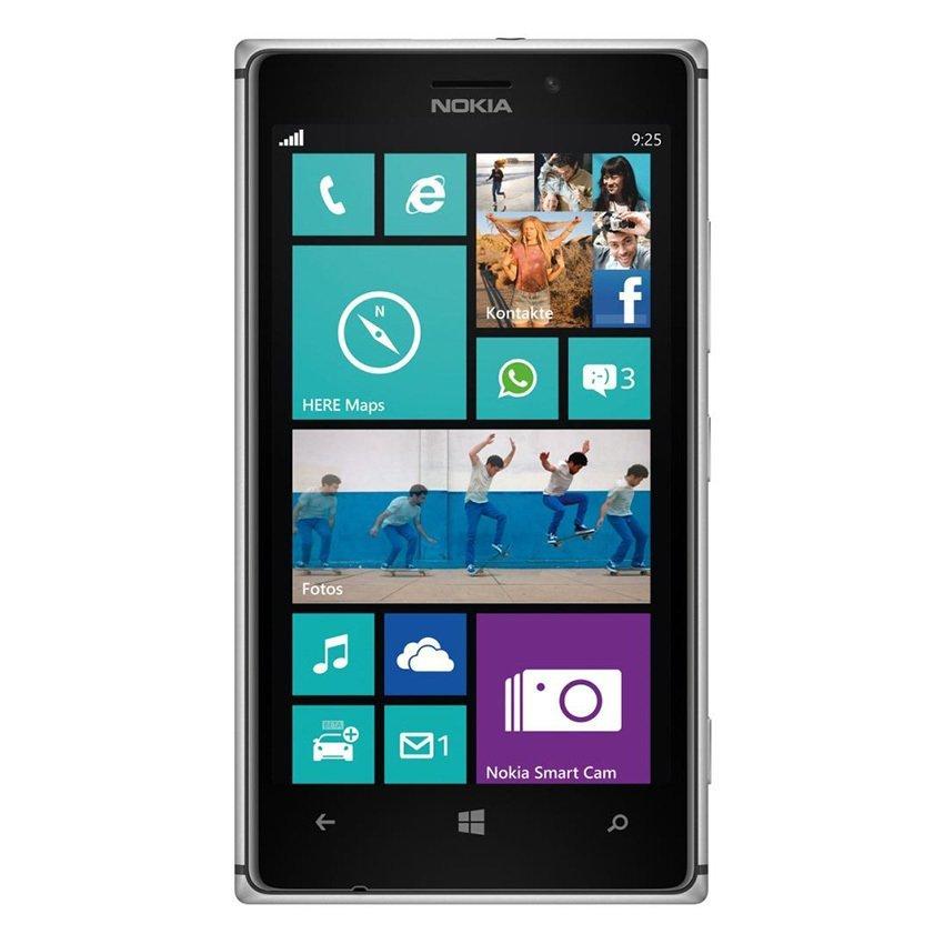 Nokia Lumia 925 - Hitam/Abu-Abu