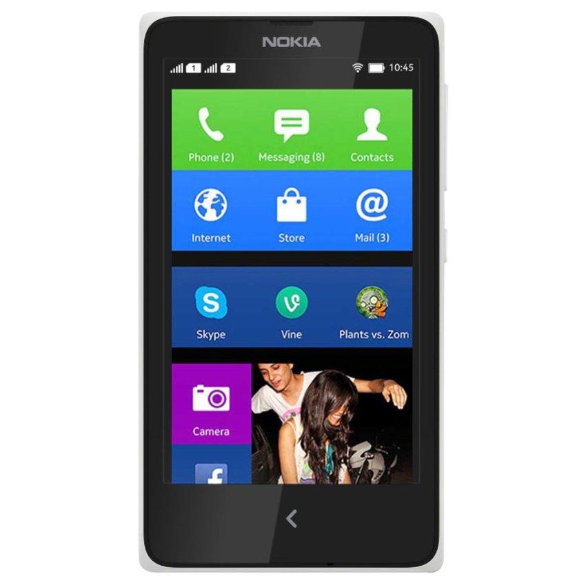 Nokia X Dual Sim - 4 GB - Putih