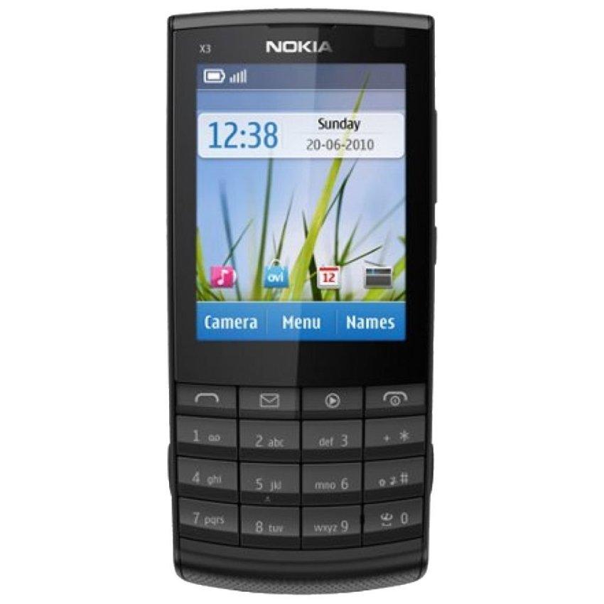 Nokia X3-02.5 - Hitam