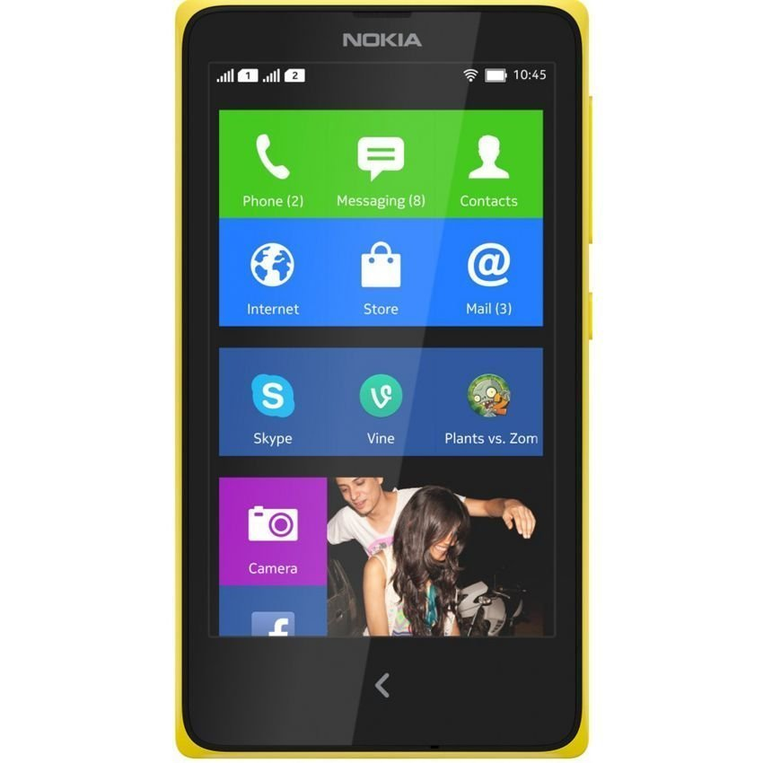 Nokia XL Dual Sim - 4 GB - Bright Yellow