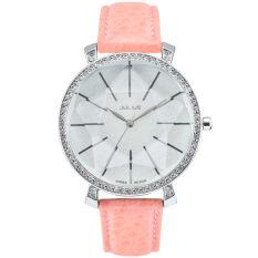 Nonof Julius (Julius) Korea Fashion Belt Quartz Watch Ladies Watch Fashion Fashion Watches JA-517 Powder With White Paper Disc -B