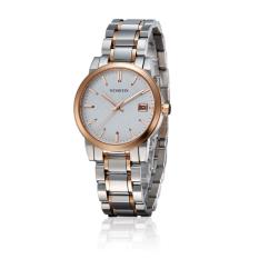 Nonvoful OCHSTIN Counter Brand Tide Female Form Steel Waterproof Ms. Quartz Watch Waterproof Watch (Rose Gold)