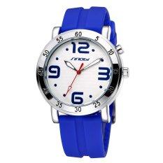 Oanda Sinobi Lovely Large Luminous Hands Silicone Digital Quartz Watches