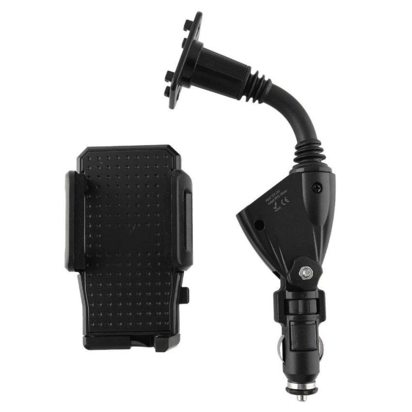 OEM 2 In 1 Dual USB Car Cigarette Lighter Holder
