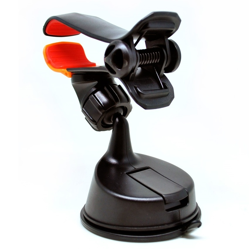 OEM 360 Rotation Car Suction Cup Smartphone Holder - Hitam