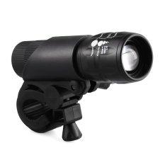 OEM CREE Q5 Lampu LED Zoom Torch 240 Lumens - Hitam