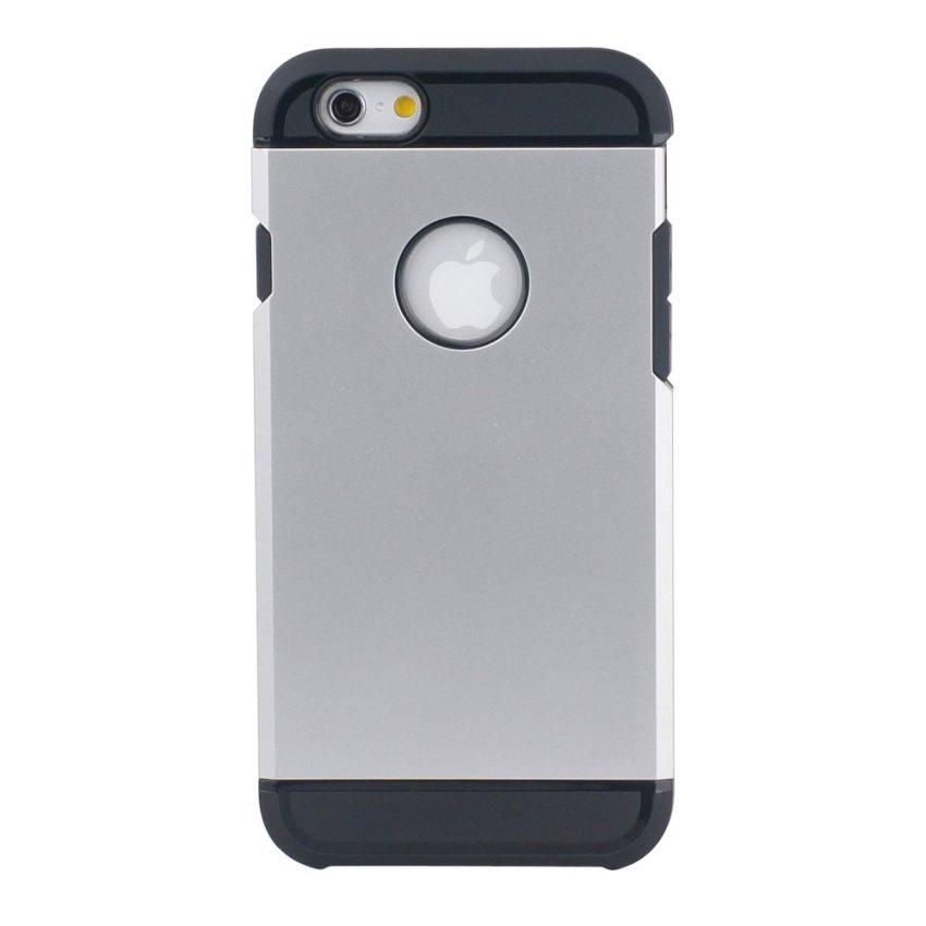 OEM HB17 Cushioning Wear Case untuk iPhone 6 - Silver