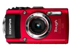 Olympus TG 3 - 16MP - 4x Optical Zoom - Merah