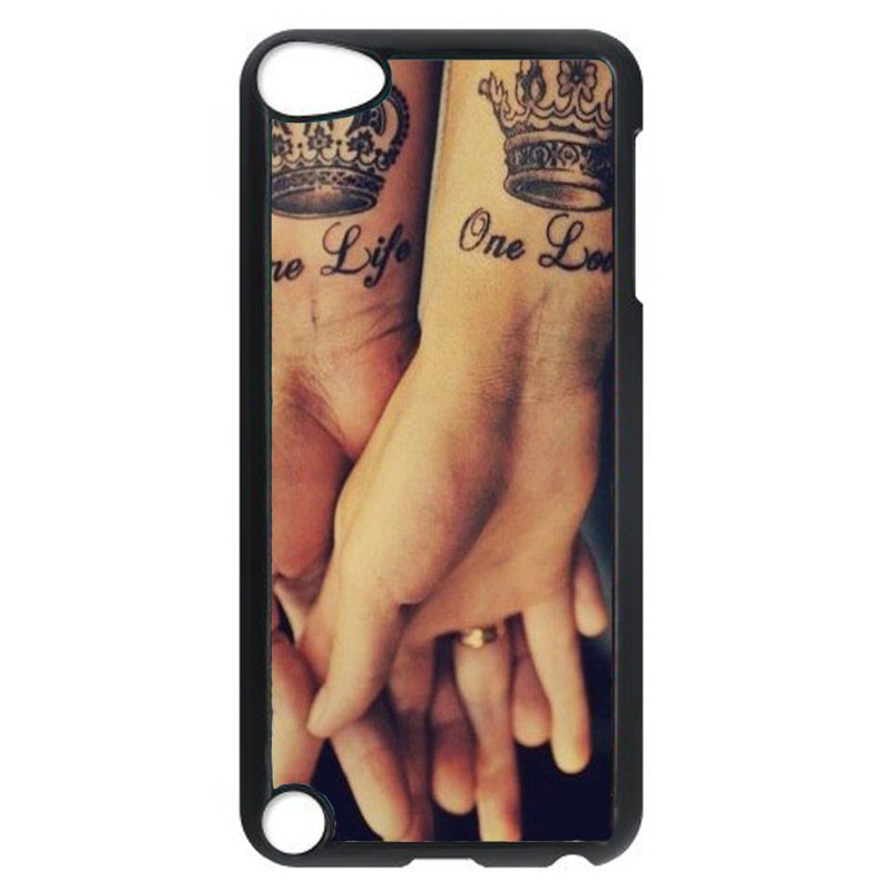 One Life One Love Sweet Phone Case For Ipod Touch 5 (Black)