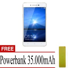 Oppo F1 - 16 GB - Gold - Free Power Bank 35000 mAh
