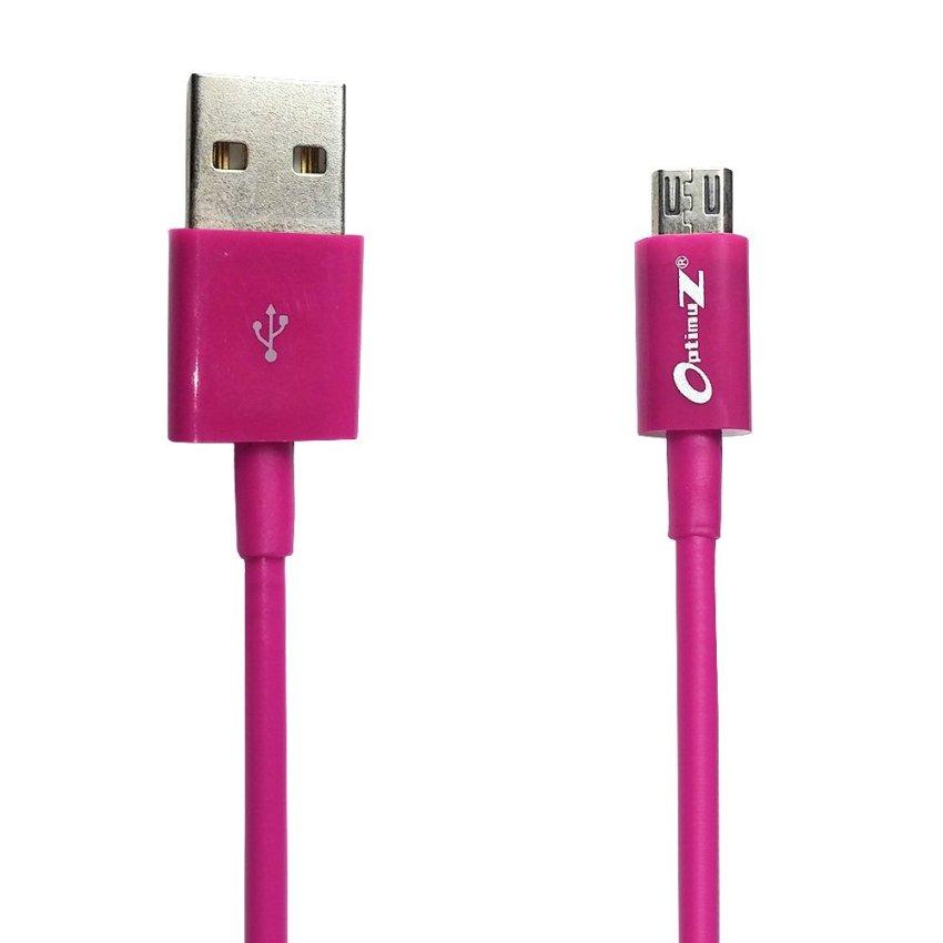 Optimuz Kabel Micro USB V8 - 2M Pink
