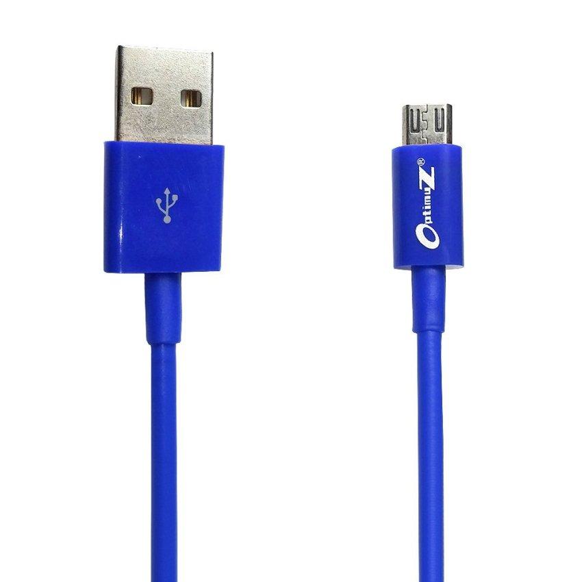 Optimuz Kabel Micro USB V8 - 3M Biru