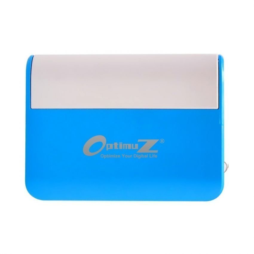 Optimuz Signora 6000mAh Portable Power Plant - Power Bank - Biru