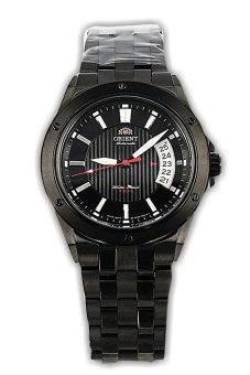 Orient Jam Tangan Pria-Hitam-Strap Stainles- FER28003B Automatic (...one Size)