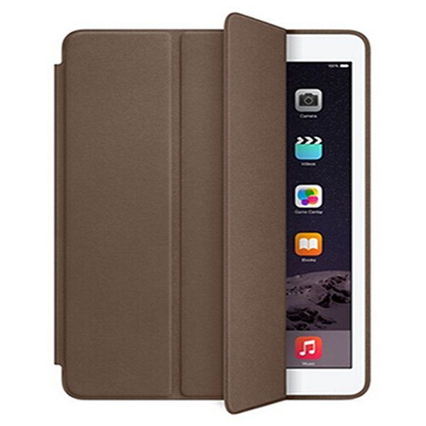 Original Official Leather Flip Protective Tablet Stand Case Ultra Slim Cover For Apple Ipad Pro 12.9 Inch Retina (Brown) (Intl)