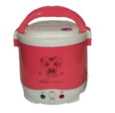 OSY Fashion 1L Korean Mini Rice Cooker for Family Red