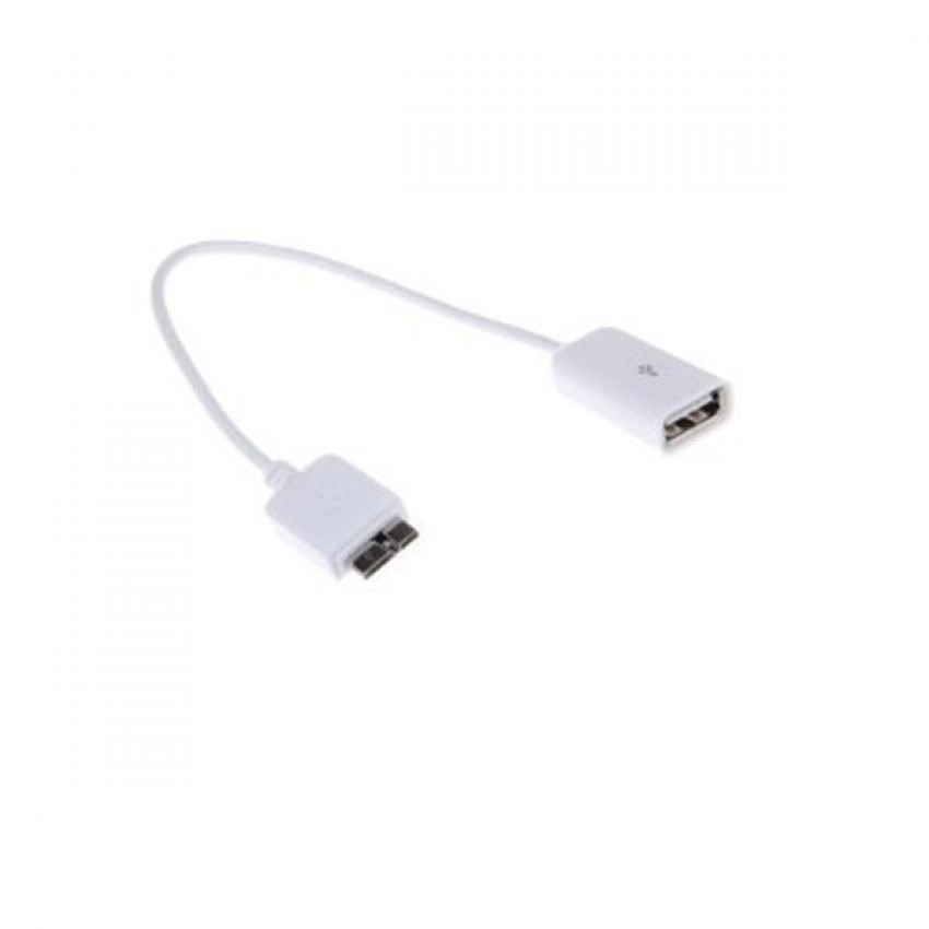 OTG Connector Samsung Note 3 Cable USB Female - Putih