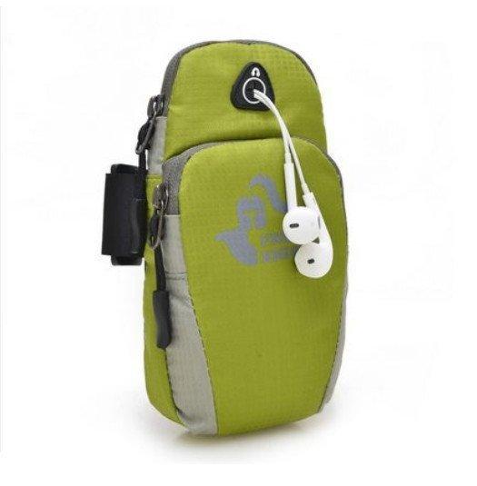 Outdoor Sports Mutifunctional Arm Band Bag(Green) (Intl)
