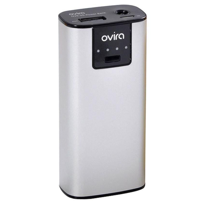 Ovira Power Bank - 5600 mAh - Abu-Abu