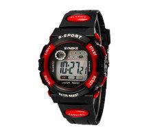 Oxoqo SYNOKE Unisex Student Fashion Digital Wristband Watches (Red)